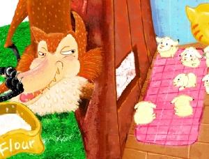 늑대와 일곱 마리 아기 염소 (The Wolf and the Seven Kids)