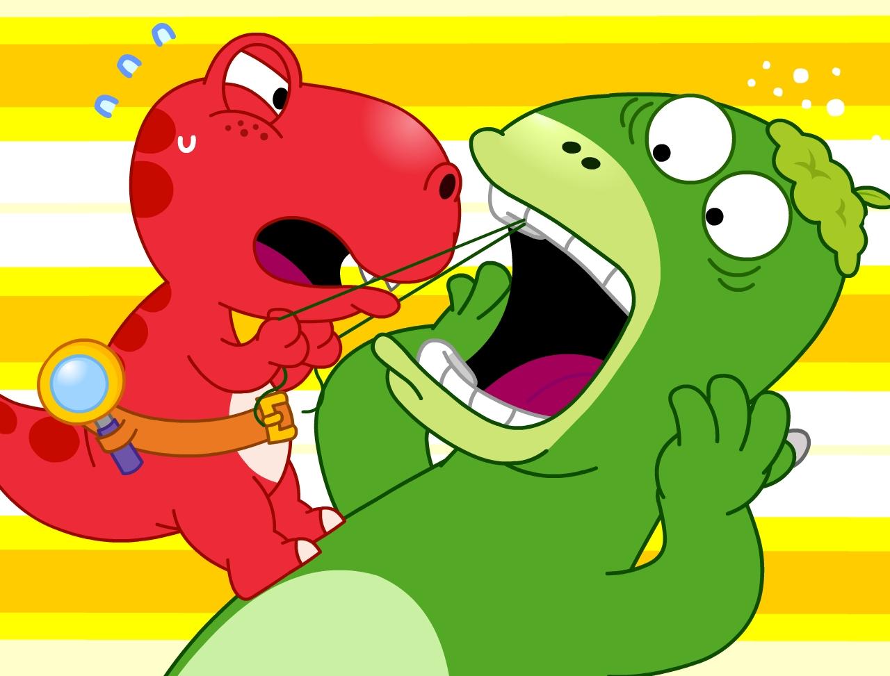 콩콩! 꼬마공룡 티노 2