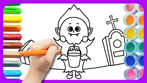 Drawing Halloween Joon